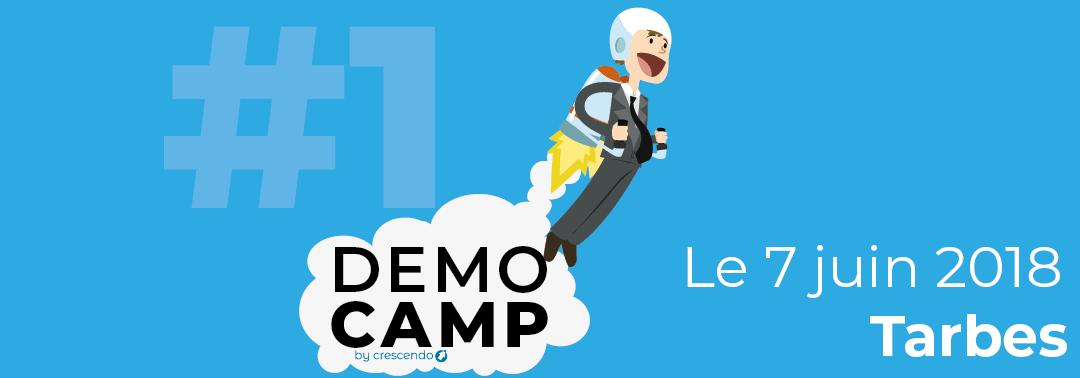DemoCamp by BIC Crescendo – 7 juin 2018