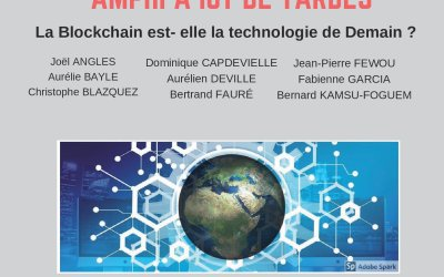 Séminaire Blockchain IUT Tarbes – 10 janvier 2019 à Tarbes