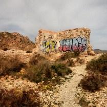 Ruinas grafiteadas