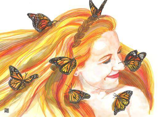 ragazza-farfalle