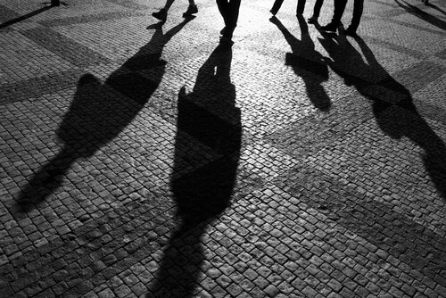 Sombras de personas
