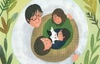 Padres brillantes que emocionan a sus hijos