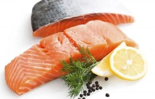 salmón para la memoria