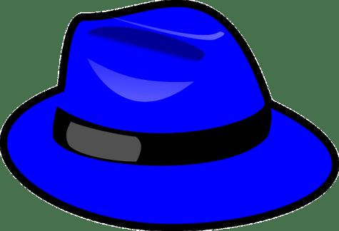 sombrero azul representando la técnica de los seis sombreros f2eb2dacbf8