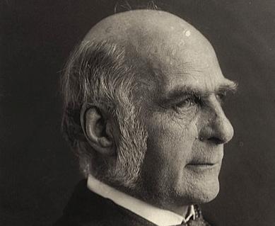 Perfil de Francis Galton