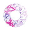 Inflable Floreado Morado Salvavidas