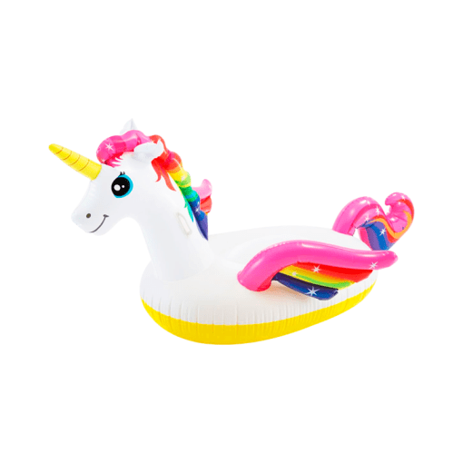 Inflable Unicornio Encantado Montable