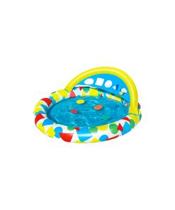 Alberca Inflable Infantil de Color Redonda