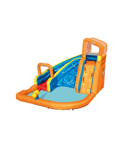 Parque Acuático Inflable Turbo Splash Infantil
