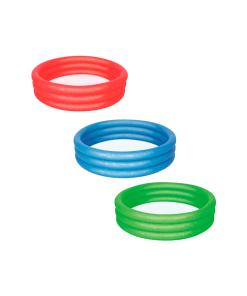 Alberca Inflable de Color 3 Aros Infantil