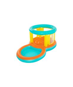 Alberca con Trampolín Inflable Infantil Jumptopia