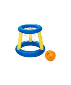 Juego Baloncesto Inflable Flotante con Pelota