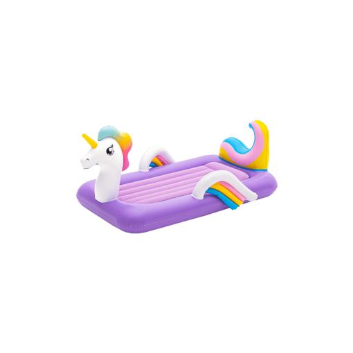 Cama Inflable en Forma de Unicornio Infantil