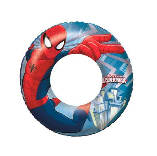 Salvavidas Inflable Infantil Dona Spider Man