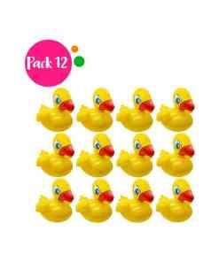 Paquete de 12 Inflables en Forma de Pato