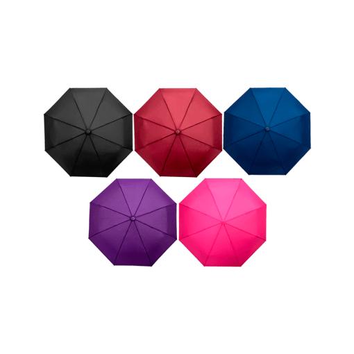 Paraguas Sombrilla Color Liso Automático