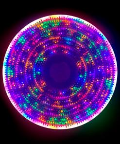 Serie Navideña 300 Focos Luz Multicolor 22 Mts