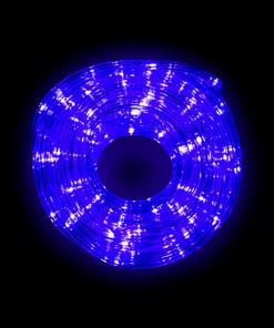 Manguera Gel Navideña Luz Azul 10 Mts