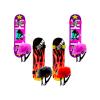 Kit de Patineta Skateboard + Set de Protección