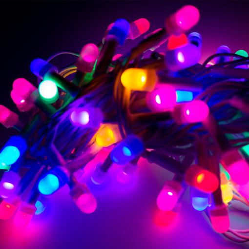 Serie Navideña 100 Focos Luz Multicolor 5 Mts