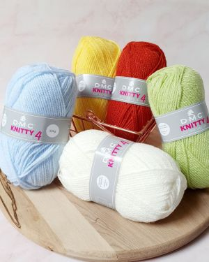 Laine Acrylique Knitty 4 – 50gr – DMC
