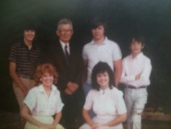 1985-meeting my dad and just some of my siblings.