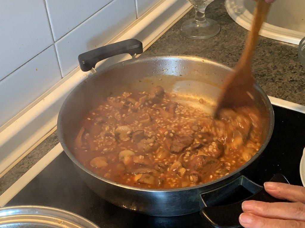 mesa-habla-arroz-meloso-setas-foie 9