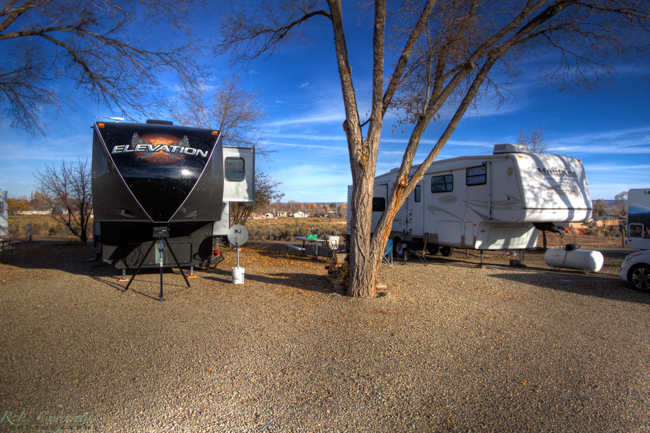 La Mesa RV Park in Cortez offers large RV sites