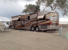 Motorhome RV Park in Cortez Colorado