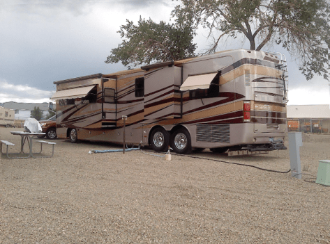 Motorhome RV Park in Cortez Colorado