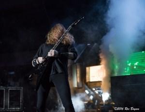 Dave Mustaine Megadeth Hollywood Paladium