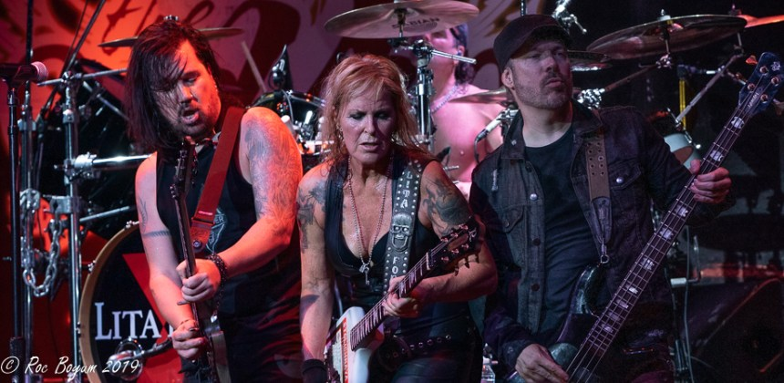 Lita Ford Live Canyon Club Santa Clarita