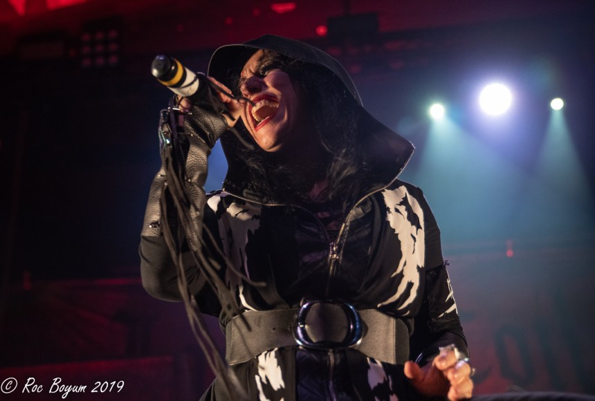 Lacuna Coil Live Regent Theater Los Angeles CA