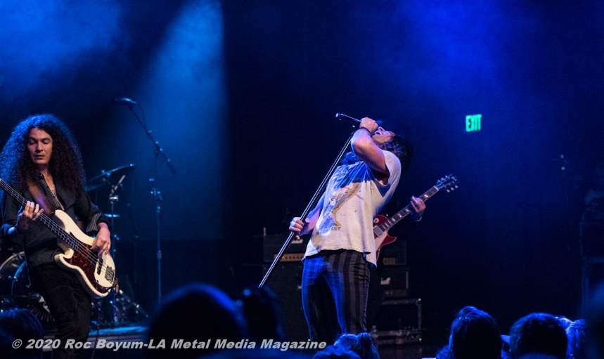 Dirty Honey Live El Rey Theater Los Angeles CA