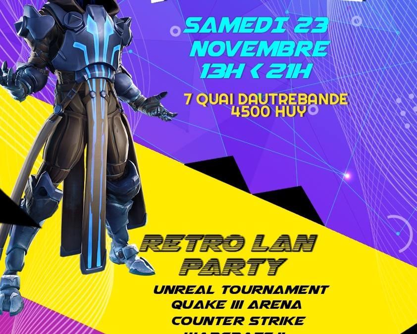 Tournoi Fortnite + Retro LAN Party!!! – 2ème édition – Le samedi 23 Novembre à la Mézon!