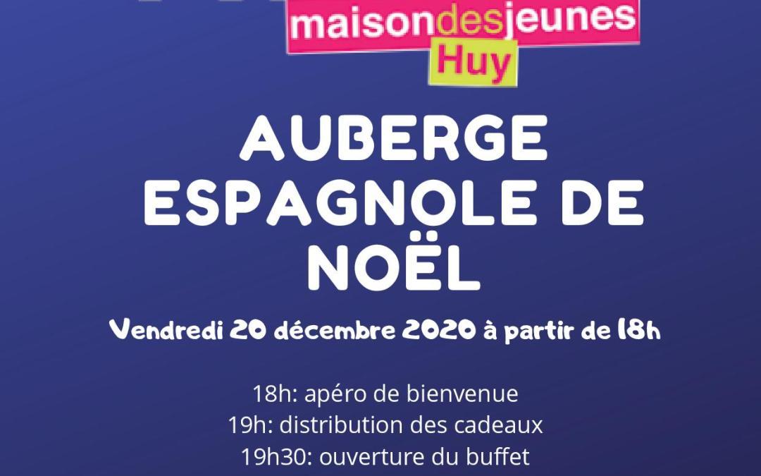 Auberge espagnole de Noël à la Mézon!