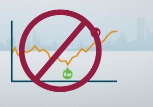 Đừng cố gắng đoán đỉnh và đáy để mua thấp bán cao