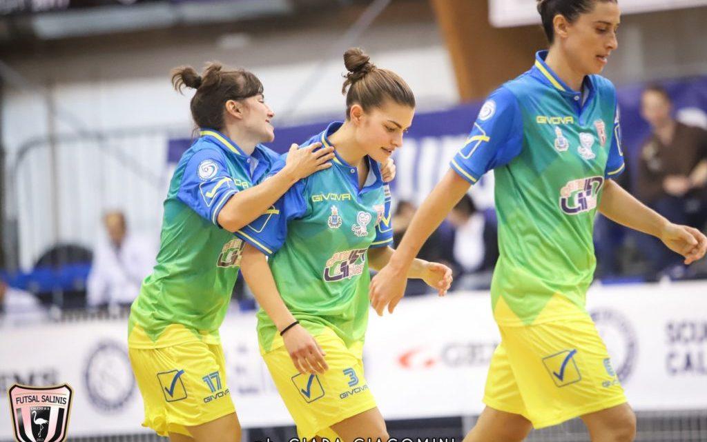Futsal Femminile: Sorridono la Salinis in A, New team Noci in A2 e l'Atletico Taranto in C.