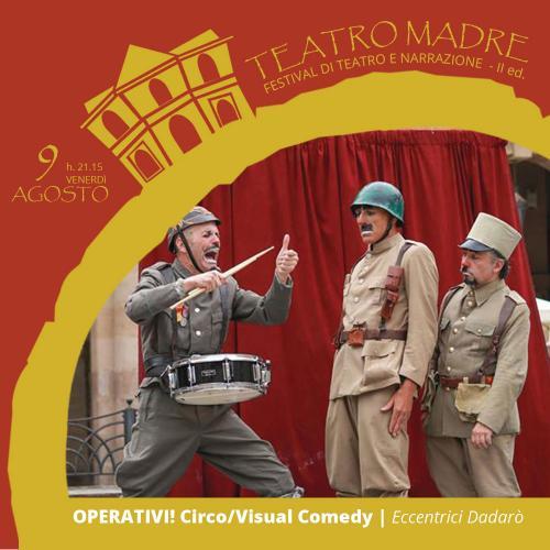 """L'estate targata Ostuni parte da """"Teatro Madre"""":  il Festival di Teatro e Narrazione."""