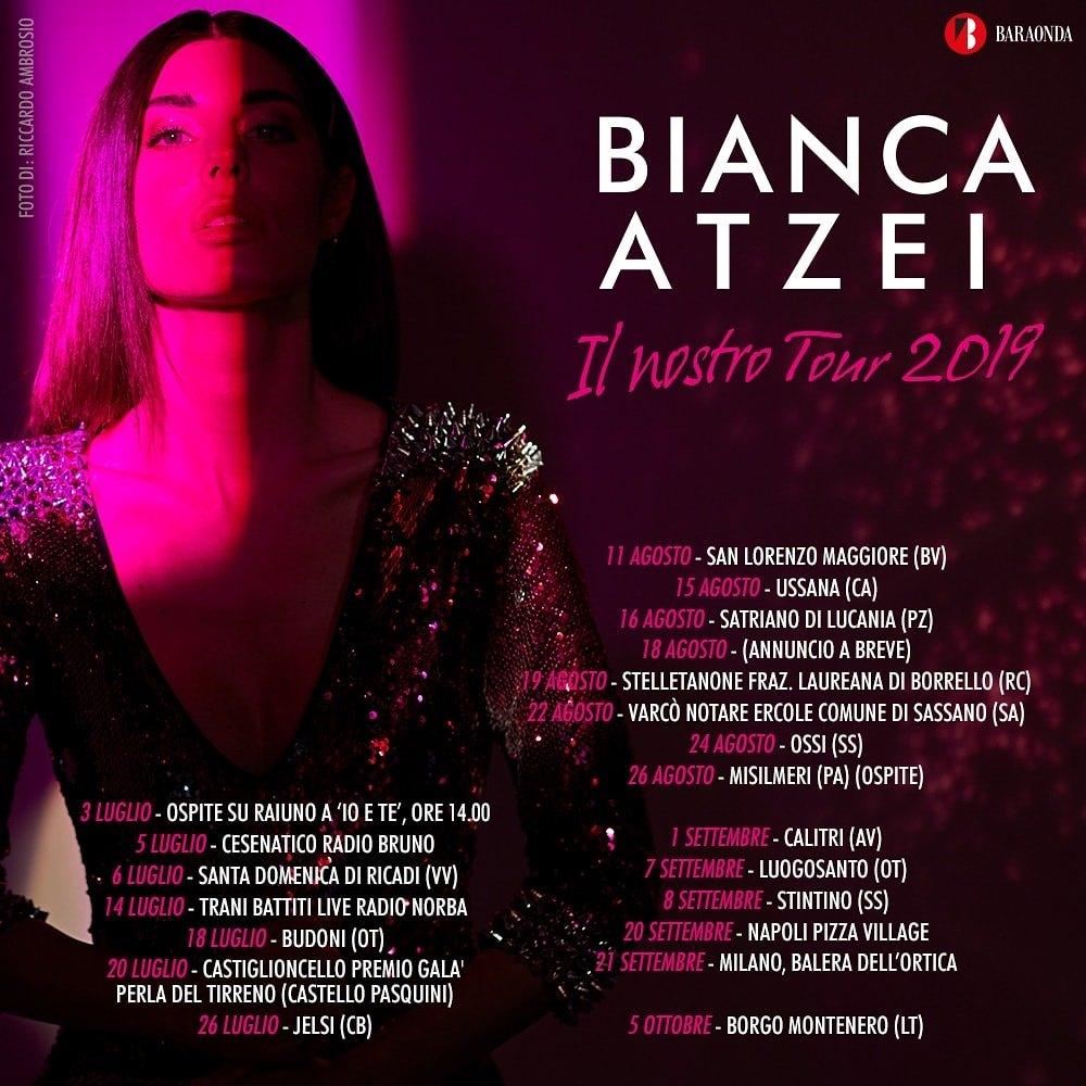 Calendario Feste Patronali Puglia.Bianca Atzei Ed Il Nostro Tour 2019 Sbarcano A Canosa Di