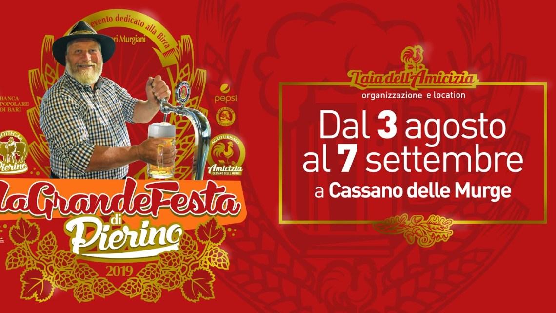La Grande Festa di Pierino: Festa della Birra a Cassano delle Murge – dal 3 Agosto al 7 Settembre