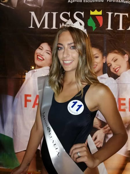 Ilaria Petruccelli: é lei la nuova Miss Cinema Puglia 2019