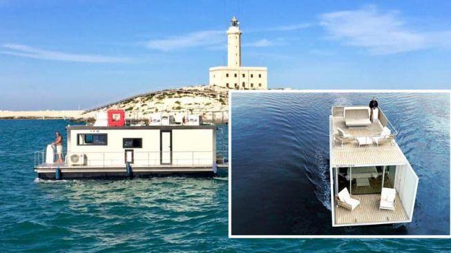Trascorrere una vacanza su una Houseboat: sul Gargano puoi farlo!