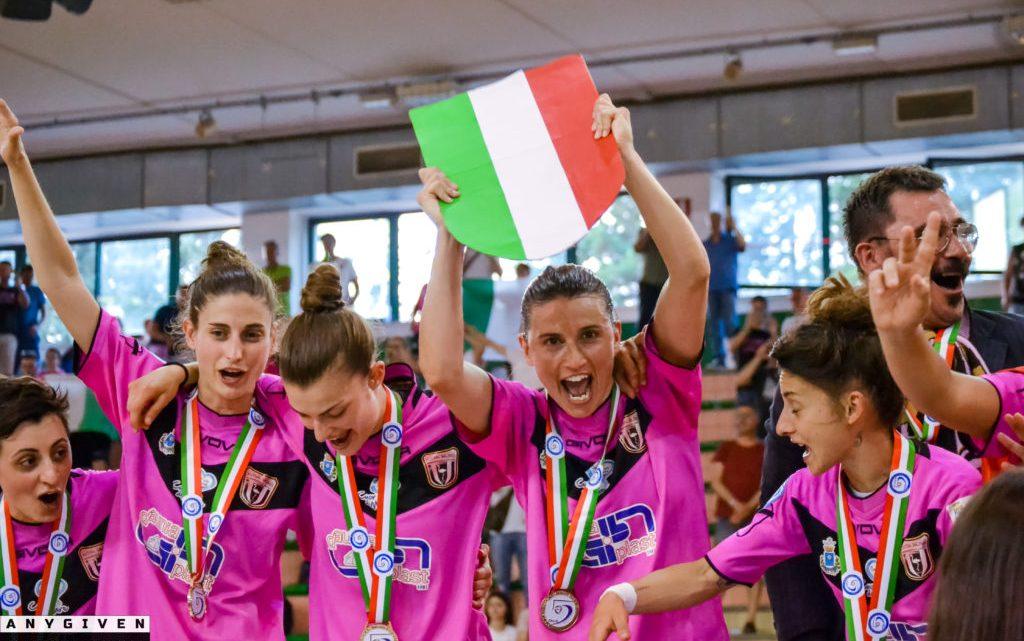 Serie A calcio a 5 femminile: Buona la prima per la Salinis e l'Italcave Real Statte.