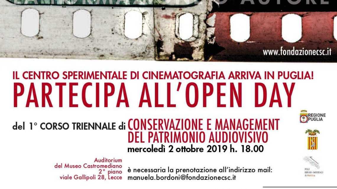 A Lecce una sede del Centro sperimentale di Cinematografia: al via nuovo corso triennale