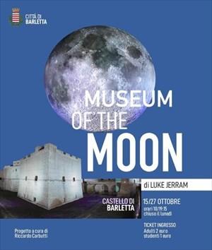 """Il Castello di Barletta ospita """"Museum of The Moon"""""""