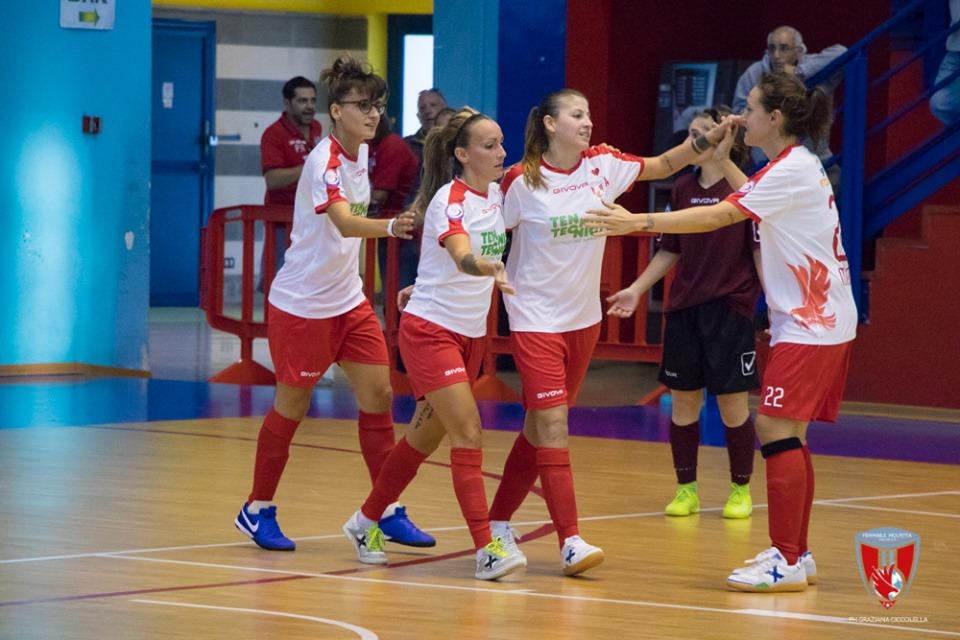 Futsal: Seconda vittoria per il Bisceglie Femminile. Ottimo lavoro per il Molfetta e il Bitonto ferma l'Altamura.