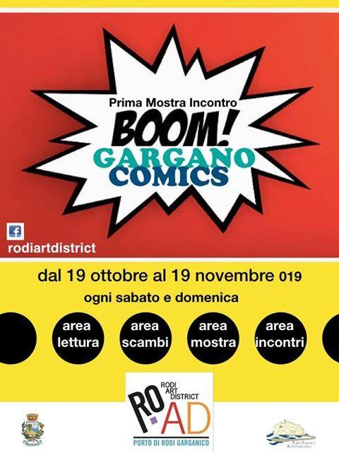 Gargano Comics: cinque week end dedicati al mondo del Fumetto a Rodi Garganico (Fg)