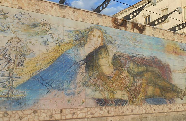 """Leggende pugliesi: Kalimera e Tumulo – La storia di un'amore come """"Romeo & Giulietta""""."""