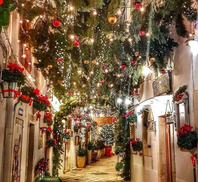 Il borgo pugliese più bello a Natale 2019? Senza dubbio Locorotondo!
